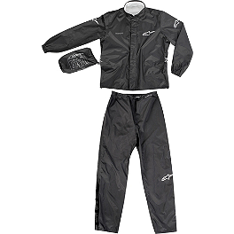 Alpinestars Quick Seal Out 2-Piece Rain Suit - Dainese Bruxelles Waterproof Two-Piece Rain Suit