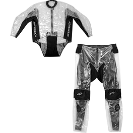 Alpinestars Racing 2-Piece Rain Suit - Cortech Road Race Rainsuit Jacket