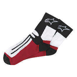 Alpinestars Racing Road Socks - Short - Alpinestars Road Racing Summer Socks
