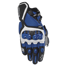Alpinestars S-1 Gloves - Sato Racing Rear Axle Sliders - Black