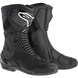 Alpinestars S-MX 6 Vented Boots - Abus Element 285 Disc Lock