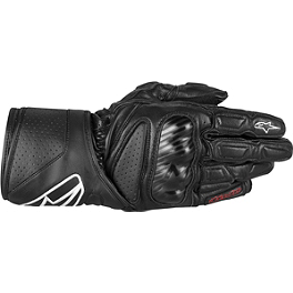 2013 Alpinestars SP-8 Gloves - Alpinestars SP-2 Leather Gloves