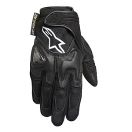 Alpinestars Scheme Kevlar Textile Gloves - 2002 Yamaha Road Star 1700 Warrior - XV17PC Galfer Front Brake Line Kit