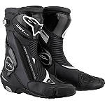 Alpinestars S-MX Plus Boots - Non-Vented - Alpinestars Motorcycle Riding Gear
