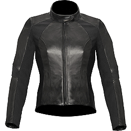 Alpinestars Women's Stella Vika Leather Jacket - Dainese Women's Racing Leather Jacket