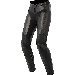 Alpinestars Women's Stella Vika Leather Pants - REV'IT! Women's Gear 2 Pants