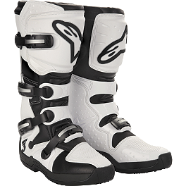 Alpinestars Tech 3 Boots - 2001 Yamaha WARRIOR Dunlop Quadmax Sport Radial Rear Tire - 18x10-9