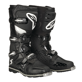 Alpinestars Tech 3 All Terrain Boots - Alpinestars Tech 3 Boots - Chrome