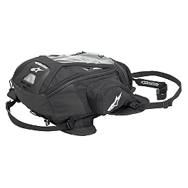 Alpinestars Tech Aero Tank Pack - Rapid Transit Recon 19 Strap Tank Bag - Black