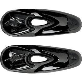 Alpinestars Replacement Toe Slider Set - Alpinestars GP Knee Slider - Black