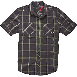 Alpinestars Weaver Woven Shirt - One Industries Gainey Plaid Short Sleeve Shirt