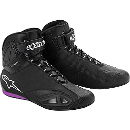 Alpinestars Women's Stella Fastlane Waterproof Shoes - Alpinestars Fastlane Waterproof Shoes