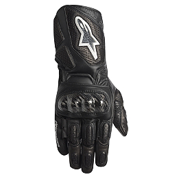 Alpinestars Women's Stella SP-2 Leather Gloves - Scorpion Women's Onyx Gloves