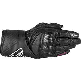 2013 Alpinestars Women's SP-8 Gloves - Alpinestars Women's Stella SP-2 Leather Gloves