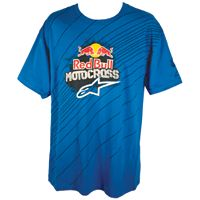 ALPINESTARS RED BULL TRIUMPHANT T-SHIRT - ROYAL BLUE