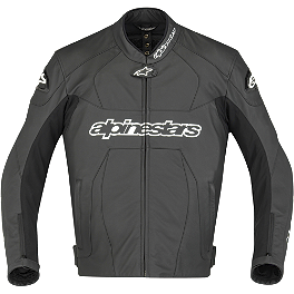 Alpinestars GP Plus Leather Jacket - Alpinestars GP-R Perforated Leather Jacket