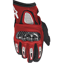 Alpinestars Thunder Gloves - Alpinestars Octane S-Moto Leather Gloves