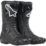 Alpinestars S-MX 5 Waterproof Boots - Alpinestars Motorcycle Riding Gear