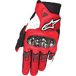 Alpinestars SMX-2 Air Carbon Gloves - Alpinestars Motorcycle Riding Gear