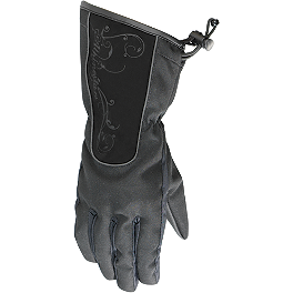 Alpinestars Stella Women's Messenger Drystar Gloves - Icon Women's PDX Waterproof Gloves