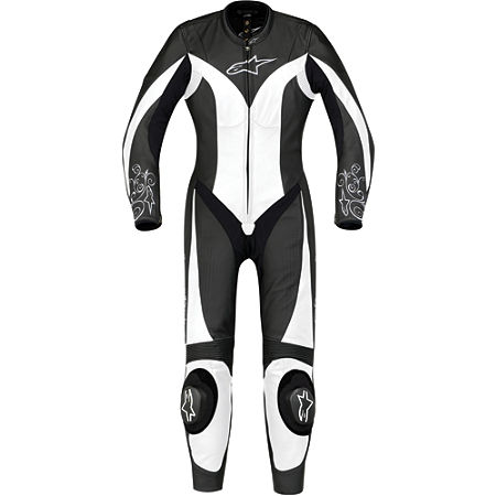 Alpinestars Women's Stella Anouke Leather One-Piece Suit - Main