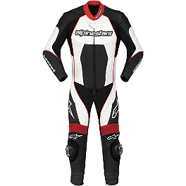 Alpinestars Carver Leather One-Piece Suit - Alpinestars Monza Leather One-Piece Suit