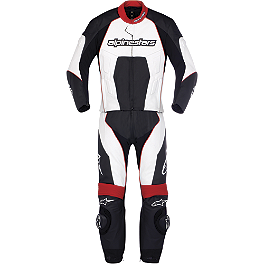 Alpinestars Carver Leather Two-Piece Suit - Alpinestars Carver Leather One-Piece Suit