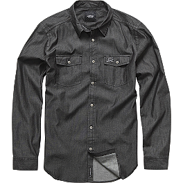 Alpinestars Chambray Long Sleeve Shirt - Alpinestars Wooden T-Shirt