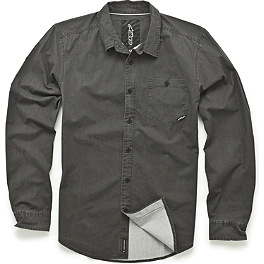 Alpinestars Cloak Long Sleeve Shirt - Alpinestars Chambray Long Sleeve Shirt