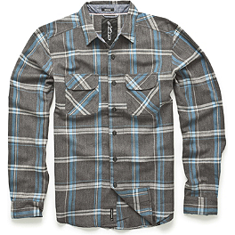 Alpinestars Caster Long Sleeve Shirt - Alpinestars Shattered Zip Hoody