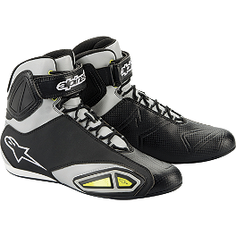 Alpinestars Fastlane Riding Shoe - Alpinestars Blacktop Riding Shoe