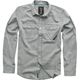 Alpinestars Huge Long Sleeve Shirt - Alpinestars Chambray Long Sleeve Shirt