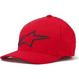 Alpinestars Molded Flexfit Hat - One Industries Icon CB X-Fit FlexFit Hat