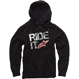 Alpinestars Ride It Hoody - Alpinestars Shattered Zip Hoody