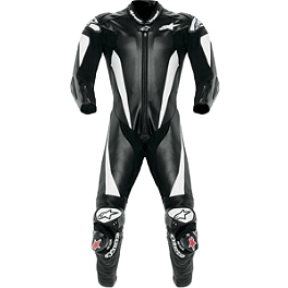 Alpinestars Race Replica Leather Suit - Alpinestars GP Tech Gloves