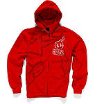 Alpinestars Shattered Zip Hoody - Alpinestars Motorcycle Products