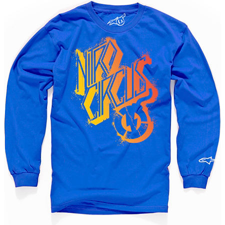 Alpinestars Skewed Long Sleeve T-Shirt - Main