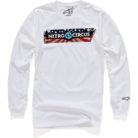 Alpinestars Sportin Wood Long Sleeve T-Shirt - Main