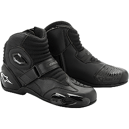 Alpinestars S-MX 1 Riding Shoe - Alpinestars Racing Road Socks - Short