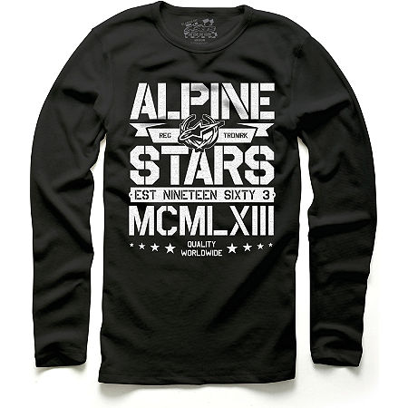 Alpinestars Stacked Long Sleeve T-Shirt - Main