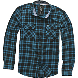 Alpinestars Waco Long Sleeve Shirt - Fox Schematica Zip Front Fleece