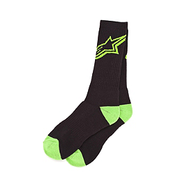 Alpinestars Trainer Socks - Factory Effex Honda Crew Socks