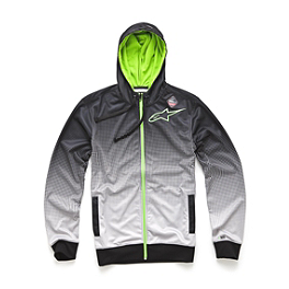 Alpinestars Gateway Fleece Zip Hoody - Pro Circuit Team Monster Energy Hoody