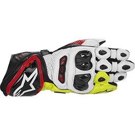 2014 Alpinestars GP Tech Gloves - Camelbak Big Bite Valve Cover