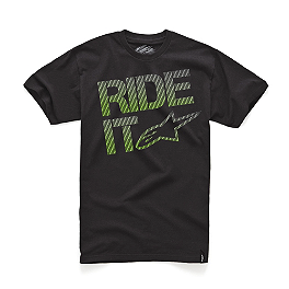 Alpinestars Ride It Carbon Fiber T-Shirt - Vortex 7 Degree Clip-Ons 51mm - Silver