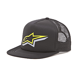 Alpinestars Duelling Custom Trucker Hat - Alpinestars Epic Flexfit Hat