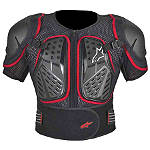 Alpinestars Bionic S 2 Jacket - Alpinestars Dirt Bike Chest and Back