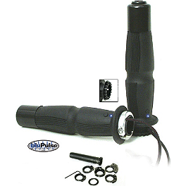 A'ME Sportbike Heated Chicane Grips - Firstgear Single Mounted Heated Grip Heat-Troller