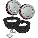 Arlen Ness Big Sucker Kit With Cloth Filter - Arlen Ness Cruiser Products