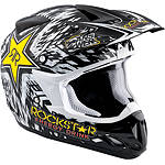 2013 Answer Comet Rockstar Helmet - Utility ATV Off Road Helmets